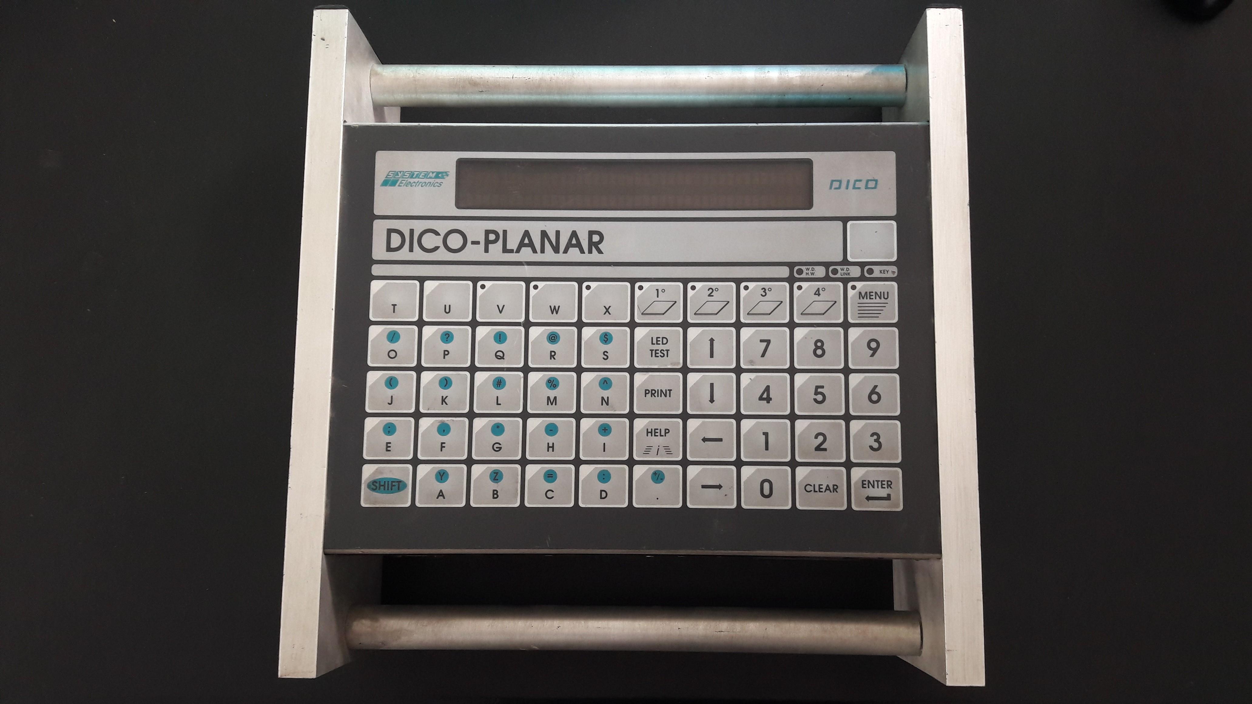 CASSETTA CPU DICO PLANAR SYSTEM ELECTRONICS